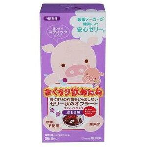 おくすり飲めたね ぶどう味 スティックタイプ 25g×6本【龍角散】