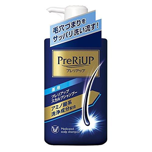 プレリアップ 薬用 スカルプシャンプー 400ml【4987306061644】