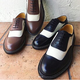 Mesh 2-tone Spectator Shoes / DRY BONES【ドライボーンズ】