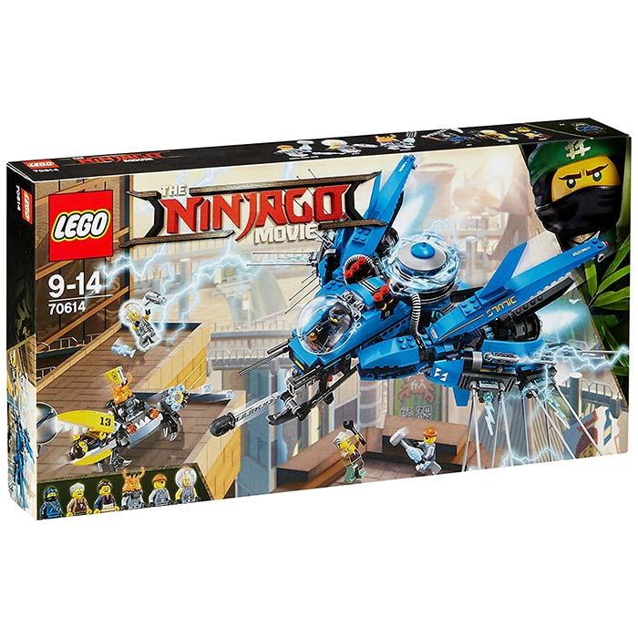 レゴ ニンジャゴー ジェイのライトニング・ジェット 70614 LEGO 9歳から