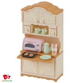 シルバニアファミリー 家具 食器棚・トースターセット カ-419 エポック社 3才から