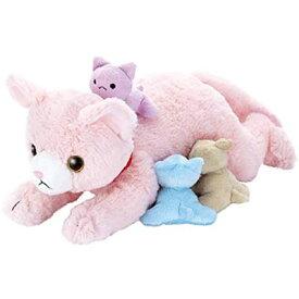 夢ペット 産んじゃったシリーズ ねこ産んじゃった! ピンク セガトイズ 3歳から