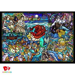 500ピース ジグソーパズル リトル・マーメイド ストーリー ステンドグラス ぎゅっとシリーズ 【ステンドアート】 (25x36cm) DSG-500-485 テンヨー
