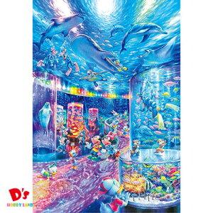 1000ピース ジグソーパズル ディズニー ナイトアクアリウム【光るパズル】D-1000-029 (51x73.5cm) テンヨー 6才〜