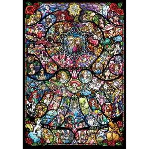 2000ピース ジグソーパズル ディズニー&ディズニー ピクサー ヒロインコレクション ステンドグラス(73x102cm)<テンヨー>D-2000-622