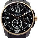 【DS KATOU】 Cartier カリブル ドゥ カルティエ ダイバー PGコンビ W2CA0004 スモールセコンド メンズ オー…