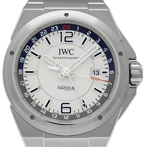 【DS KATOU】 IWC インジュニア デュアルタイム IW324404 GMT メンズ オートマ シルバー文字盤  【質屋出店】 【中古】