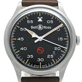 Bell&Ross ベル&ロス ヴィンテージ BRV1-92-S メンズ オートマ 裏スケ 黒文字盤 【中古】【DS KATOU】