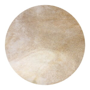 ドラムヘッド 12インチ ジャンベ用 打楽器アクセサリ 山羊の皮製 40cm ライトイエロー