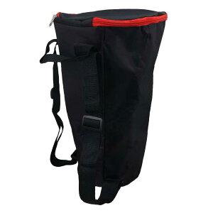 ジャンベ用バッグ ジャンベ収納ケース 12インチ 丈夫 持ち運び便利 防水クロス製 ブラック