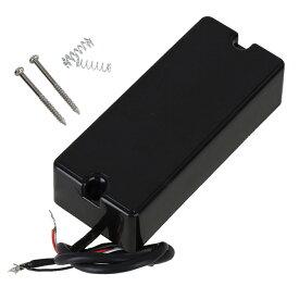 エレキベース用ピックアップ ハムバッカー 5弦 9k セラミック プラスチック&メタル製 ブラック