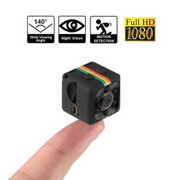 最新SQ11 超小型カメラ 防犯カメラ ビデオカメラ 赤外線撮影 暗視機能 動体検知 長時間録画 隠しカメラ wifi スマホ 日本語説明付