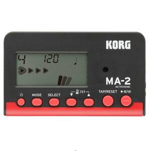 KORG MA-2 Black/Red メトロノーム