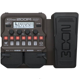 【DT】Zoom A1X-FOUR アコースティック楽器用マルチエフェクター Acoustic Multi-Effects Processor