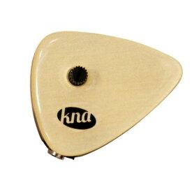 【DT】KNA AP-2 アコースティック楽器用 パッシブタイプ ピエゾ ピックアップ Universal Piezo Pick-up with Volume Control Maple cap