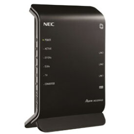 NEC Aterm PA-WG1200HS3 無線LANルーター [11ac/a/n/g/b・有線LAN Android/iOS/Mac/Win] 867+300Mbps・ギガ (PAWG1200HS3)
