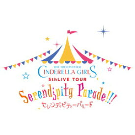 【中古】日本コロムビア THE IDOLM@STER CINDERELLA GIRLS 5thLIVE TOUR Serendipity Parade!!!@SAITAMA SUPER ARENA 【ブルーレイ】 【291-ud】