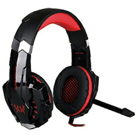 LIMON ゲーミングヘッドセット GAMING HEADSET G9000 BL-HS02-RD レッド (BLHS02RD) [振込不可]