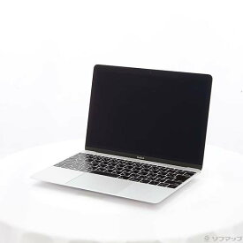 【中古】Apple(アップル) MacBook 12-inch Early 2016 MLHC2J/A Core_m5 1.2GHz 8GB SSD512GB シルバー 〔10.11 ElCapitan〕 【291-ud】