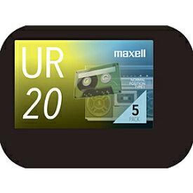 maxell オーディオカセットテープ20分5巻パック UR-20N5P UR20N5P