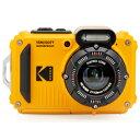 Kodak(コダック) コンパクトデジタルカメラ【防水+防塵+耐衝撃】 スポーツカメラ PIXPRO イエロー WPZ2 [防水+防…