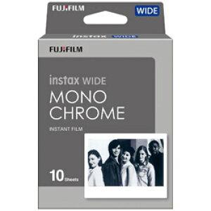 FUJIFILM(フジフイルム) インスタントフィルム instax WIDE用モノクロフィルム 1パック(10枚入) INSTAXWIDEMONOCHROME
