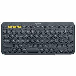Logicool【スマホ/タブレット対応】ワイヤレスキーボード[Bluetooth3.0]K380マルチデバイス(84キー・ブラック)K380BK