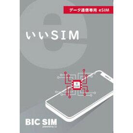 IIJ BIC SIM 「いいSIM」eSIM スタートパック IMB290