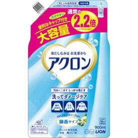 LION アクロン ナチュラルソープの香り つめかえ用大(900ml)[衣類洗剤]