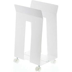 山崎実業 ダンボール&紙袋ストッカー フレーム ホワイト(Corrugated Cardboard Box&Paper Bag Stocker Frame WH) ホワイト 03301 03301