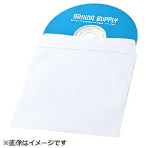 SANWA SUPPLY(サンワサプライ) DVD・CDペーパースリーブケース(窓なしタイプ・100枚入り) FCD-PS100NWW FCDPS100NWW