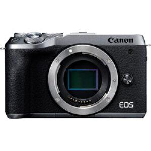 Canon(キヤノン) EOS M6 Mark II ボディ シルバー [キヤノンEF-Mマウント] ミラーレスカメラ EOSM6MK2SLBODY