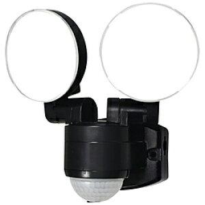 ELPA 屋外用LEDセンサーライト AC電源 2灯 ESL-SS412AC [白色 /コンセント式] ESLSS412AC