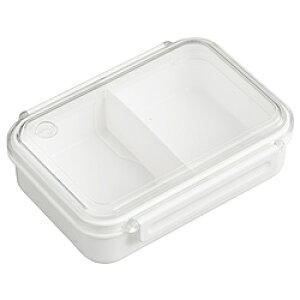 オーエスケー まるごと冷凍弁当タイトボックス(仕切付)650ml ホワイト PCL-3S PCL3S