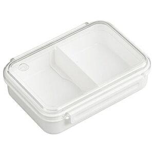 オーエスケー まるごと冷凍弁当タイトボックス(仕切付)800ml ホワイト PCL-5S PCL5S
