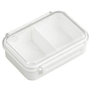 オーエスケー まるごと冷凍弁当タイトボックス(仕切付)500ml ホワイト PCL-1S PCL1S