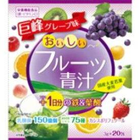 ユーワ おいしいフルーツ青汁1日分の鉄+葉酸