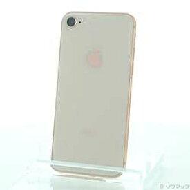【中古】Apple(アップル) iPhone8 64GB ゴールド MQ7A2J/A SIMフリー 〔ネットワーク利用制限▲〕【291-ud】