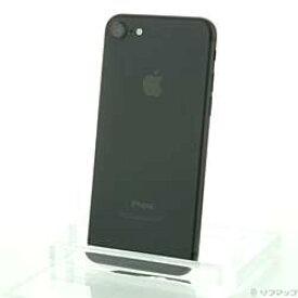 【中古】Apple(アップル) iPhone7 32GB ブラック MNCE2J/A SIMフリー【291-ud】