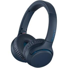 SONY(ソニー) WH-XB700 LC(ブルー) ブルートゥースヘッドホン [Bluetooth/リモコン・マイク対応] WHXB700LC