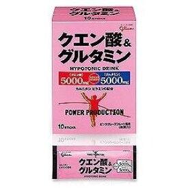 グリコ グリコ パワープロダクション クエン酸&グルタミン 【ピンクグレープフルーツ風味/12.4g×10袋】