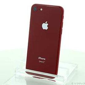 【中古】Apple(アップル) iPhone8 256GB プロダクトレッド MRT02J/A SIMフリー【-ud】