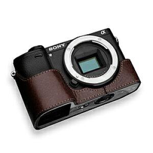 GARIZ GARIZ SONY α6400/6300 兼用 本革カメラケース XS-CHA6400BR ブラウン XS-CHA6400BR ブラウン XSCHA6400BR