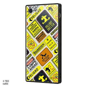 INGREM iPhone SE(第2世代)4.7インチ/ iPhone 8 / 7 /トムとジェリー/耐衝撃ケース KAKU トリプルハイブリッド/Warning Warning IQ-WP7K3B/TJ009 IQWP7K3BTJ009
