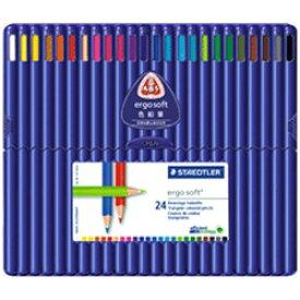 ステッドラー [色鉛筆] ステッドラー エルゴソフト 色鉛筆 24色セット 157 SB24 157SB24