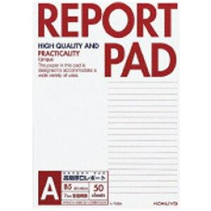 コクヨ [レポート用紙] レポートパッド 表紙巻き (A罫 B5 50枚) レ-735A レ735A