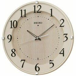 【送料無料】セイコー電波掛け時計「ナチュラルスタイル」KX397A