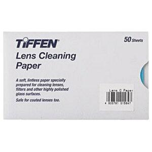 銀一 TIFFEN レンズクリーニングペーパー(50枚入り)