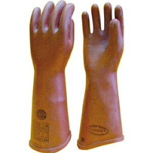 渡部工業 高圧ゴム手袋410mm小 510S 510S