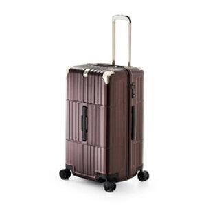 ディパーチャー TSAロック搭載スーツケース ハードキャリー HD-510-27 マットジュエリーレッド [80 L] HD51027